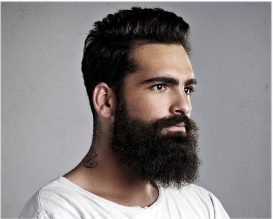 La barba rende più maschi