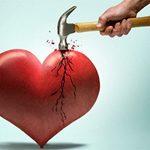 Avere il cuore infranto non é solo un modo di dire