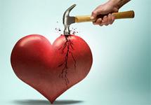 Il cuore spezzato fa male davvero