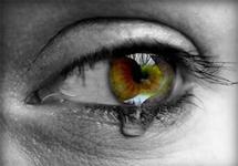 La depressione nella pupilla