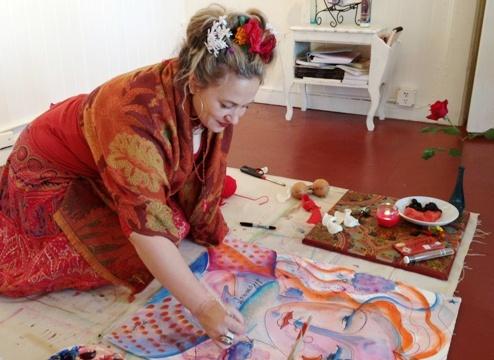 Fare arte riduce lo stress