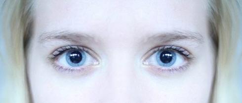 La dilatazione delle pupille e la depressione